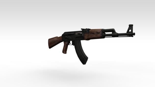 AK-47 | C4D graphics